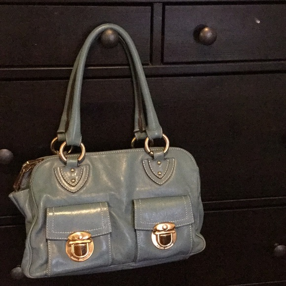 1cf33d99e6 Marc Jacobs Bags | Last Day Stunning Blue Bag | Poshmark